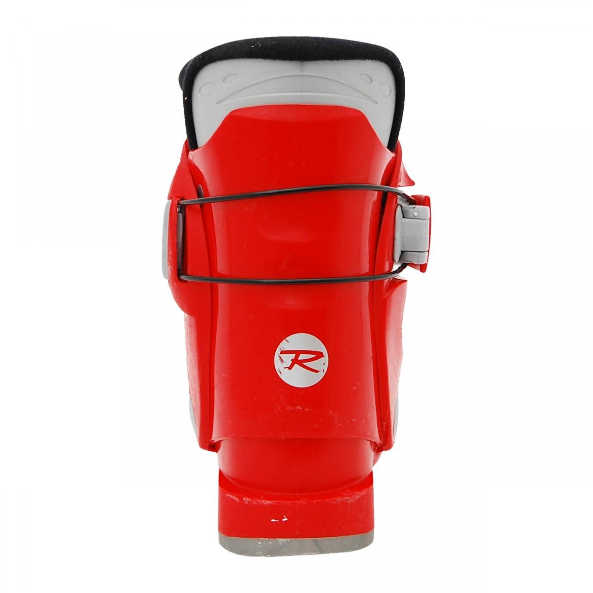 Chaussure ski occasion junior Rossignol mini R 18 rouge