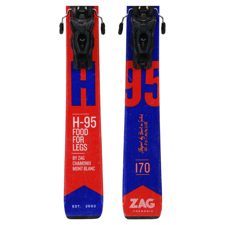 fixations Ski occasion Zag H-95