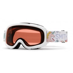 Masque de Ski  Smith Gambler White fairylate