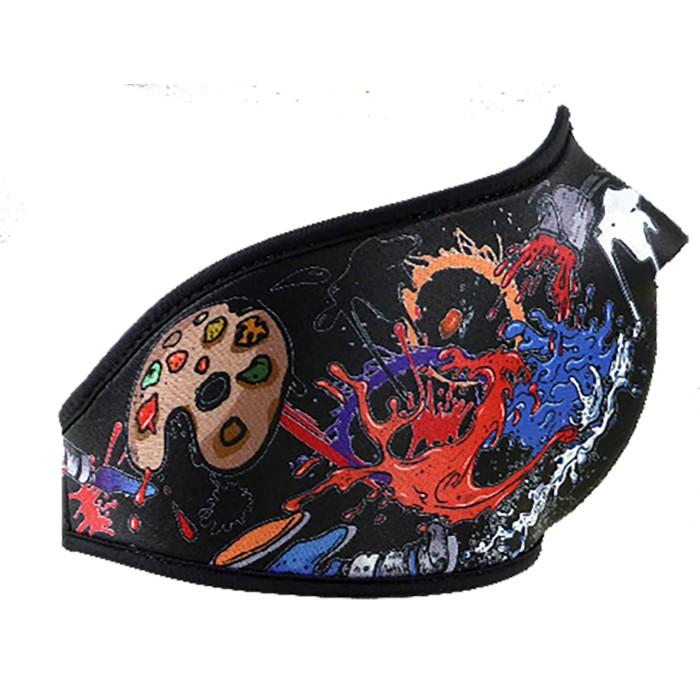 Neopren-Maske Erwachsene Farbe 23