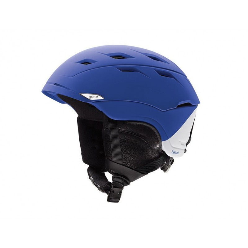 Casque Ski Smith Sequel Matte Klein Blue Split