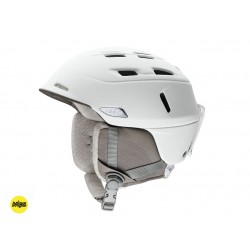Casque Ski Smith Compass Mips Pearl white