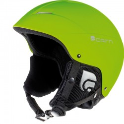 Cairn Skihelm Android matte fluo green