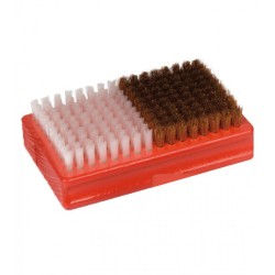 brosse rectangle double