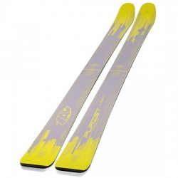 Ski ZAG Purist Light gris/jaune