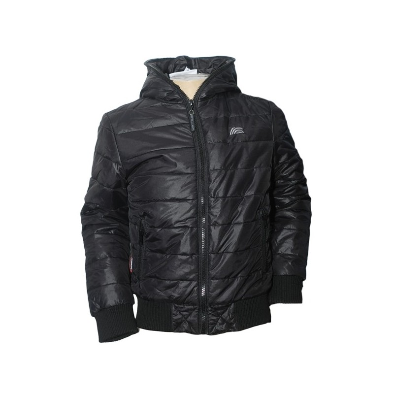 Watts Huta Boy Down Jacket schwarz
