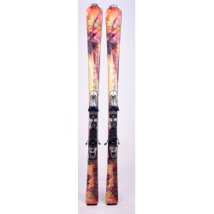 Skiing Nordica Axana Orange + Fixation