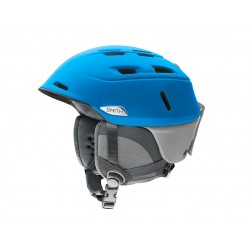 Casque Ski Smith Men's Camber bleu 11b