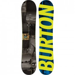 Snowboard Garçon NEUF Burton Process Smalls Noir + Fixation Mission Smalls Youth
