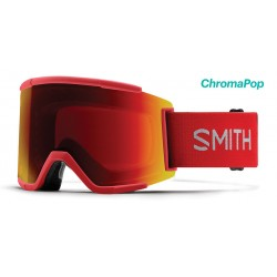 Masque de Ski Adulte Smith Squad XL Rouge 2b