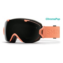 Masque de Ski Smith Femme I/OS saumon 3b