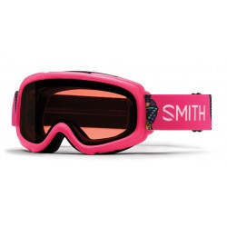 Masque de Ski Fille Smith Gambler rose 11b