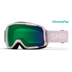 Masque de Ski Fille Smith Grom rose 14b