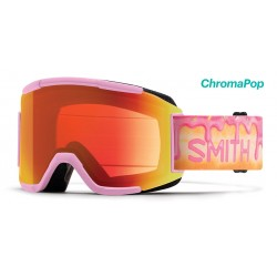 Masque de Ski Femme Smith Squad rose 36b