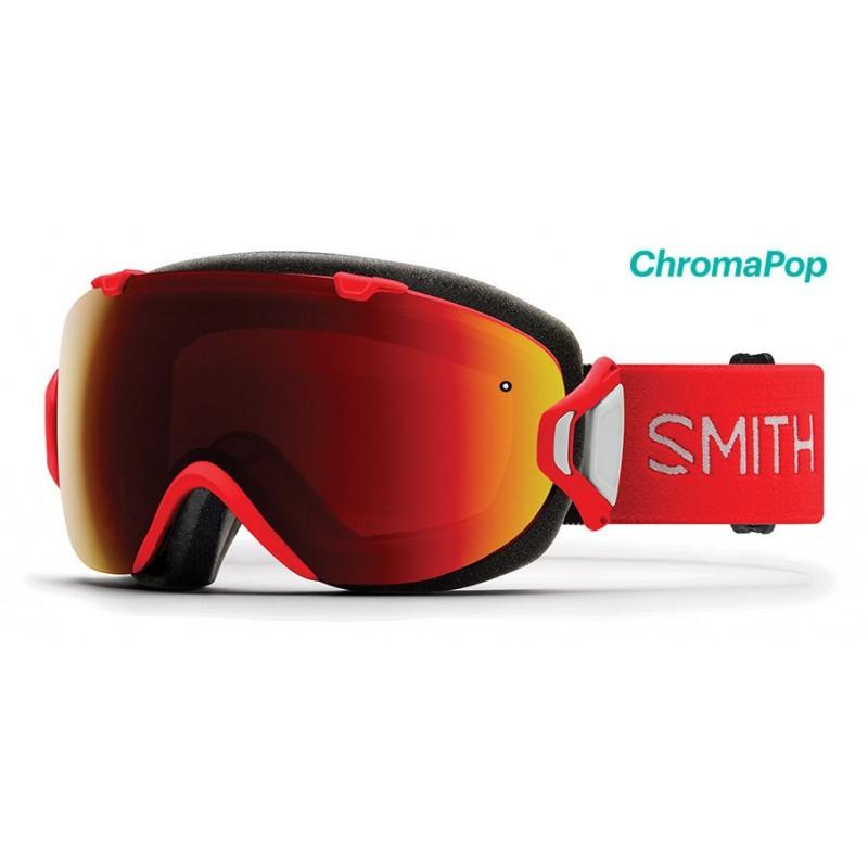 Masque de Ski Femme Smith I/OS rouge 38b