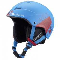 Casque Ski Cairn Junior Andromed Mat Azur Spider
