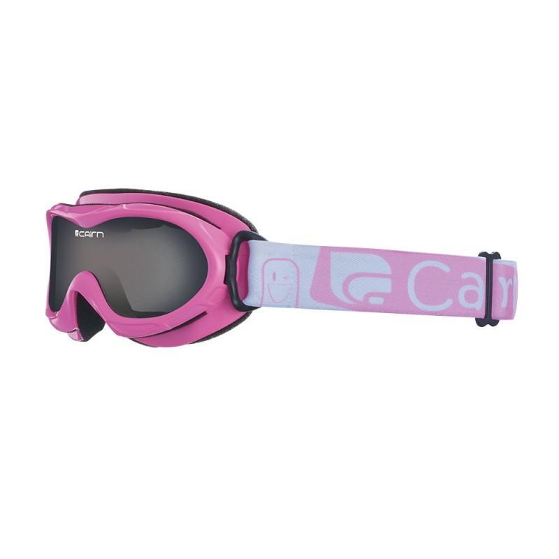 Masque de ski Cairn Junior Bug Shiny Pink