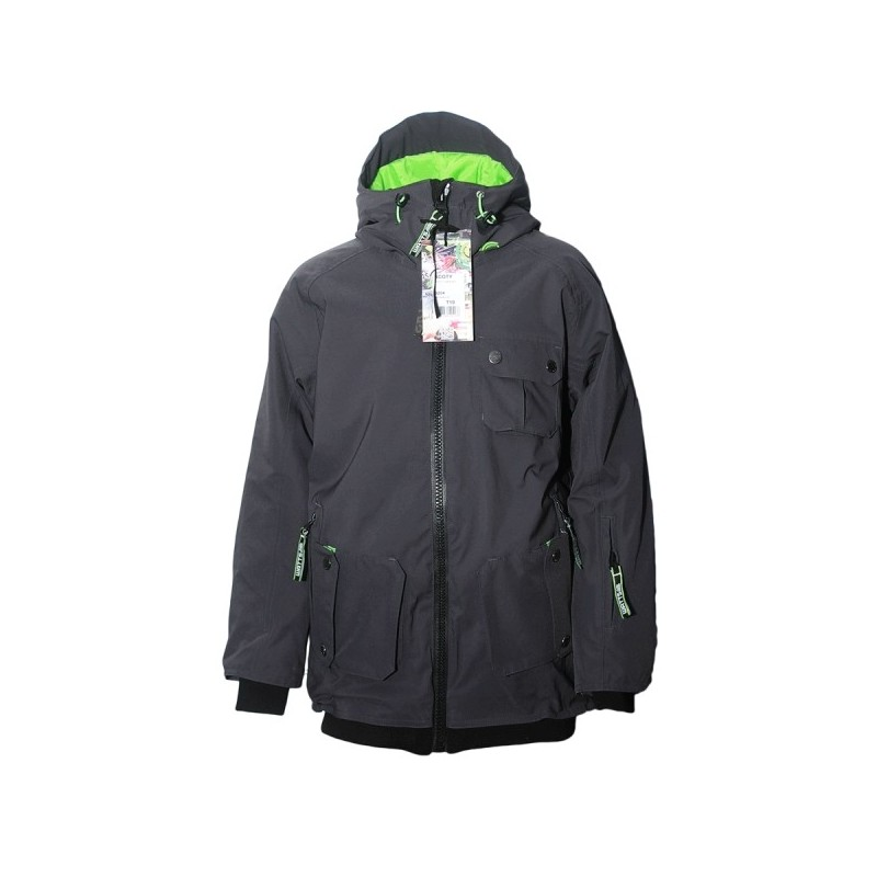 Veste Ski garçon WATTS Scotty anthracite