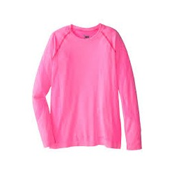 Sous vêtement technique Fille SPYDER Cheer top rose 10389