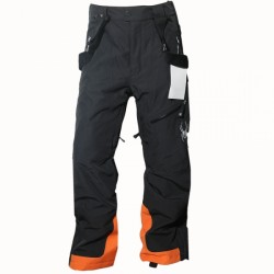 Skihose Boy SPYDER Boys Antrieb Schwarz/Orange 10446