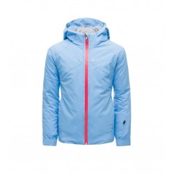 Veste Ski Fille SPYDER tresh bleu/rose jacket 10454
