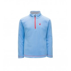 Polaire Ski Fille SPYDER Speed fleece bleu/rose 10506