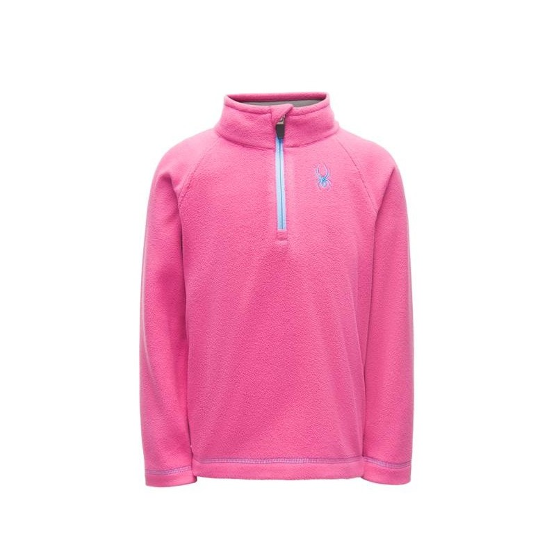 Polaire Ski Fille SPYDER Speed fleece rose n°202b
