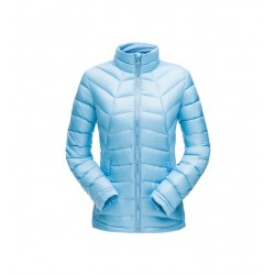 Woman's jacket SPYDER syrround hoody down blue 10519