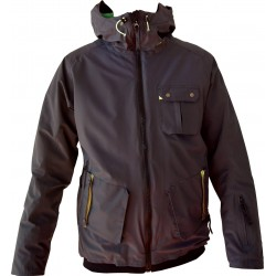 Herren Skijacke WATTS Scoty anthrazit 10597