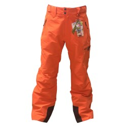 Pantalon Ski Homme WATTS Ghost1 orange
