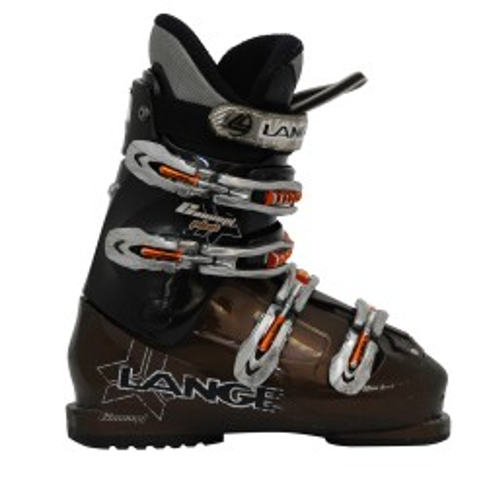 Lange concept plus bota casual marrón y negra
