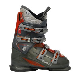Head Edge +8/9 Gris / Naranja usado Ski Boot
