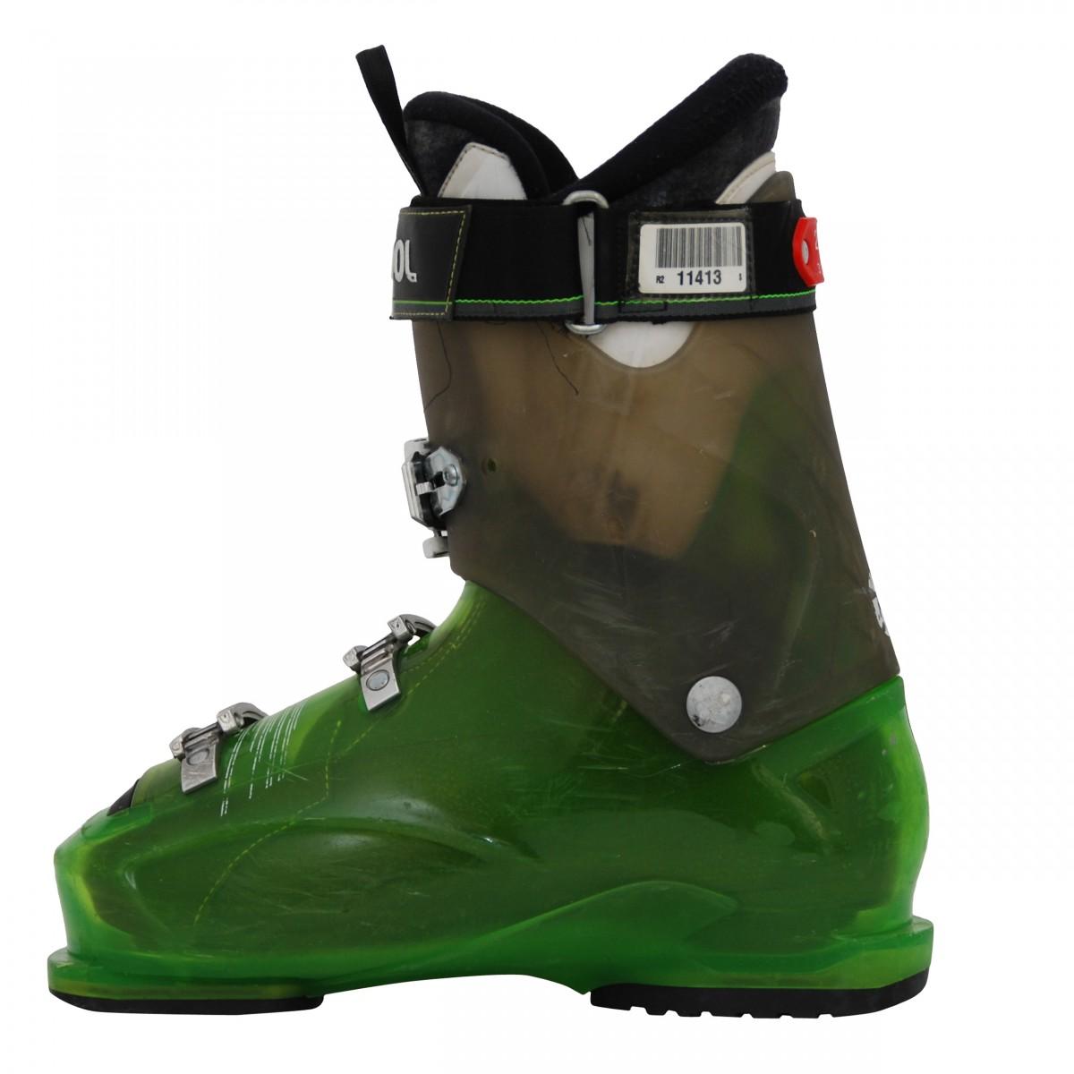 Chaussure de ski ccasion Rossignol Evo R vert