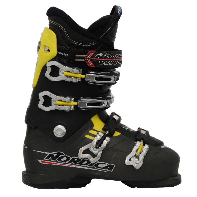 Chaussure ski occasion Nordica NXT X80R noir/jaune