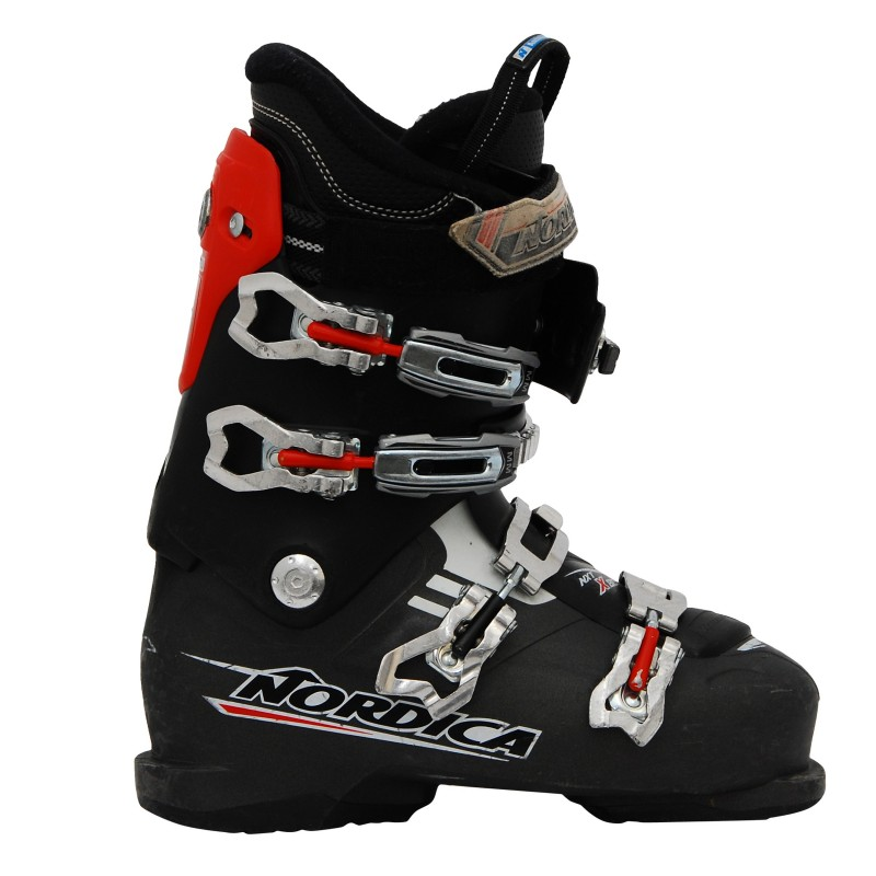 Chaussure ski occasion Nordica NXT X80R noir/rouge