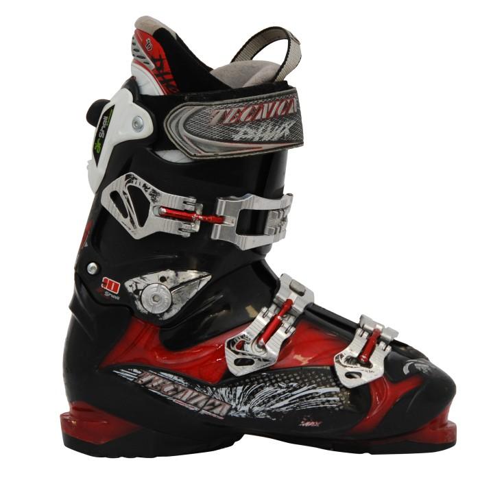 Tecnica Phnx Used Ski Shoe black / red