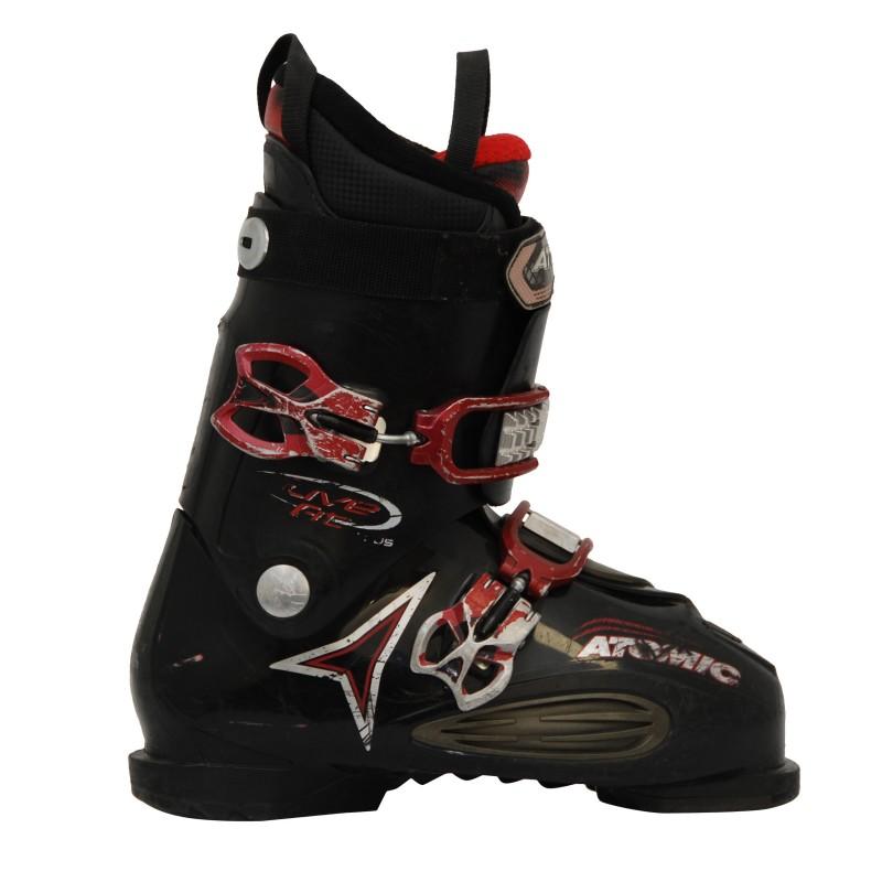 chaussure de ski occasion Atomic Live Fit noir et rouge qualité B