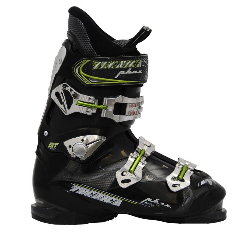 Chaussures de ski occasion Tecnica RT noir/vert qualité A