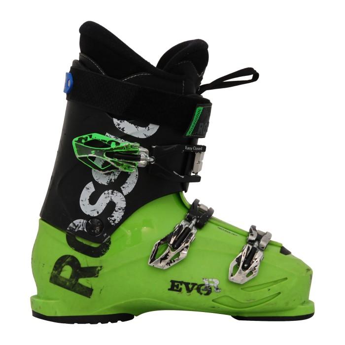 Chaussure de ski occasion Rossignol Evo R noir/vert