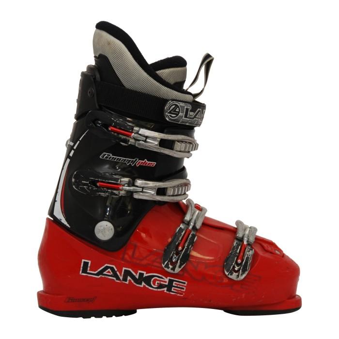 Lange Concept Plus Occasion Ski Shoe red / black