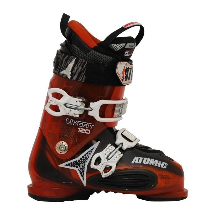 Atomic Live Fit 120 orange gebrauchter Skischuh