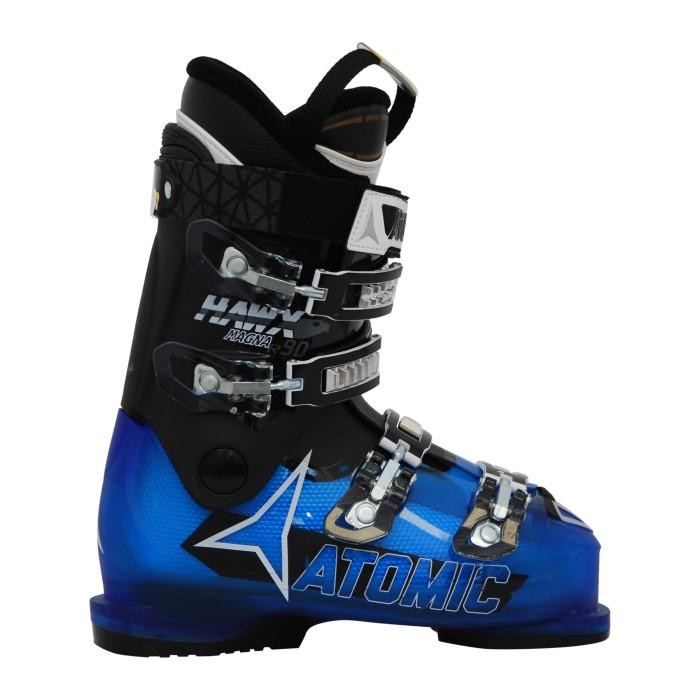 Atomic hawx magna R 90 blau/schwarz gebrauchte Skischuhe