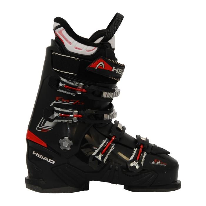 Chaussure de ski occasion Head FX 7.5 noir rouge
