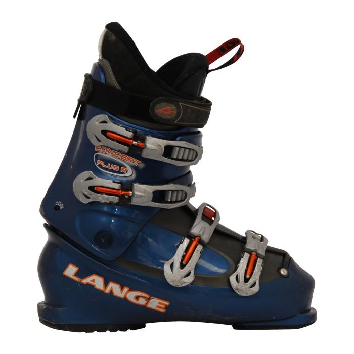 Chaussure de Ski Occasion Lange Concept plus R bleu