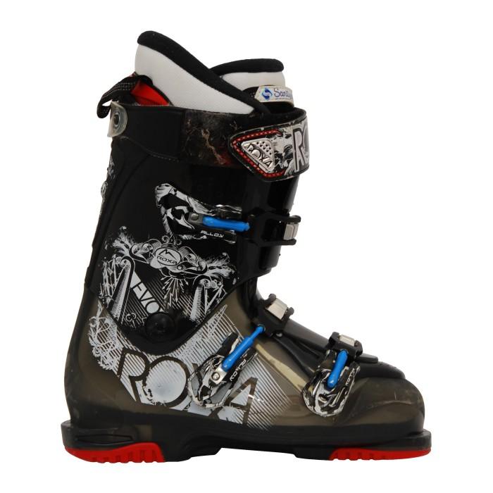 Roxa Evo schwarz/grau gebrauchte Skischuhe