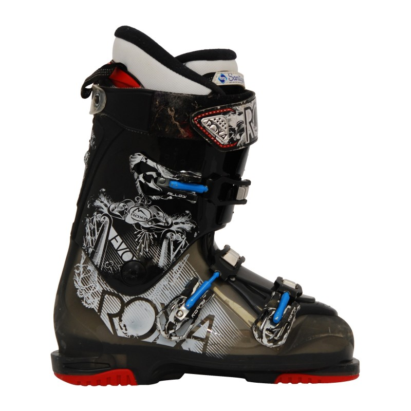 Chaussure de ski occasion Roxa Evo noir/gris qualité A