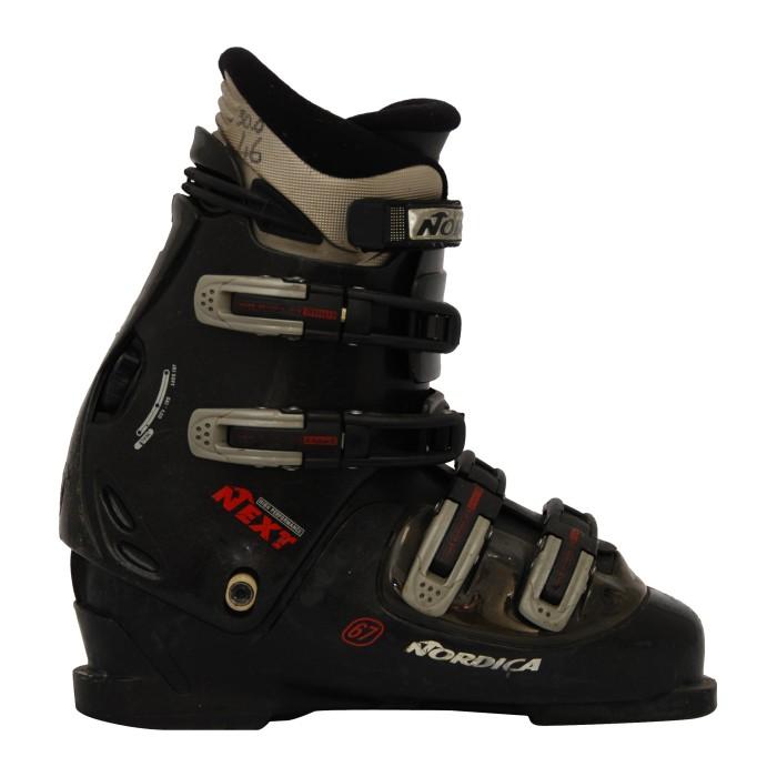Black Nordica Next 67 used ski boot