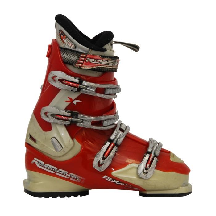 Chaussures de ski occasion adulte Rossignol exalt rouge/blanc