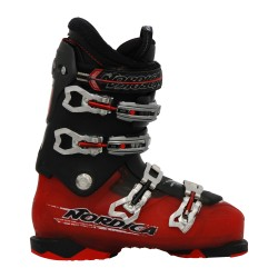 Nordica NXT N3R red red black used ski boot