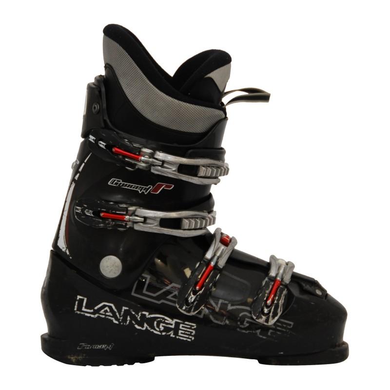 Lange concept plus brauner und schwarzer Casual-Skischuh